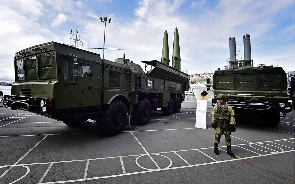 Iskander-M tactical ballistic missile complex