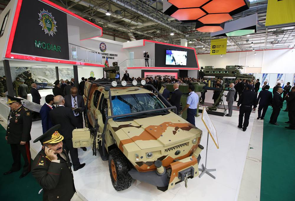 Azerbaijan's Gurza 2 patrol vehicle