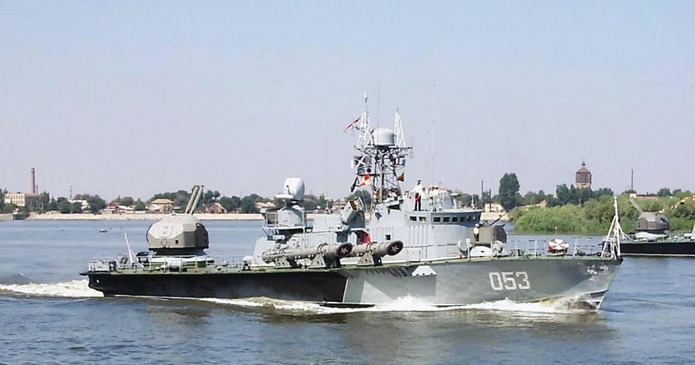 Torpedo boat of the Caspian Flotilla