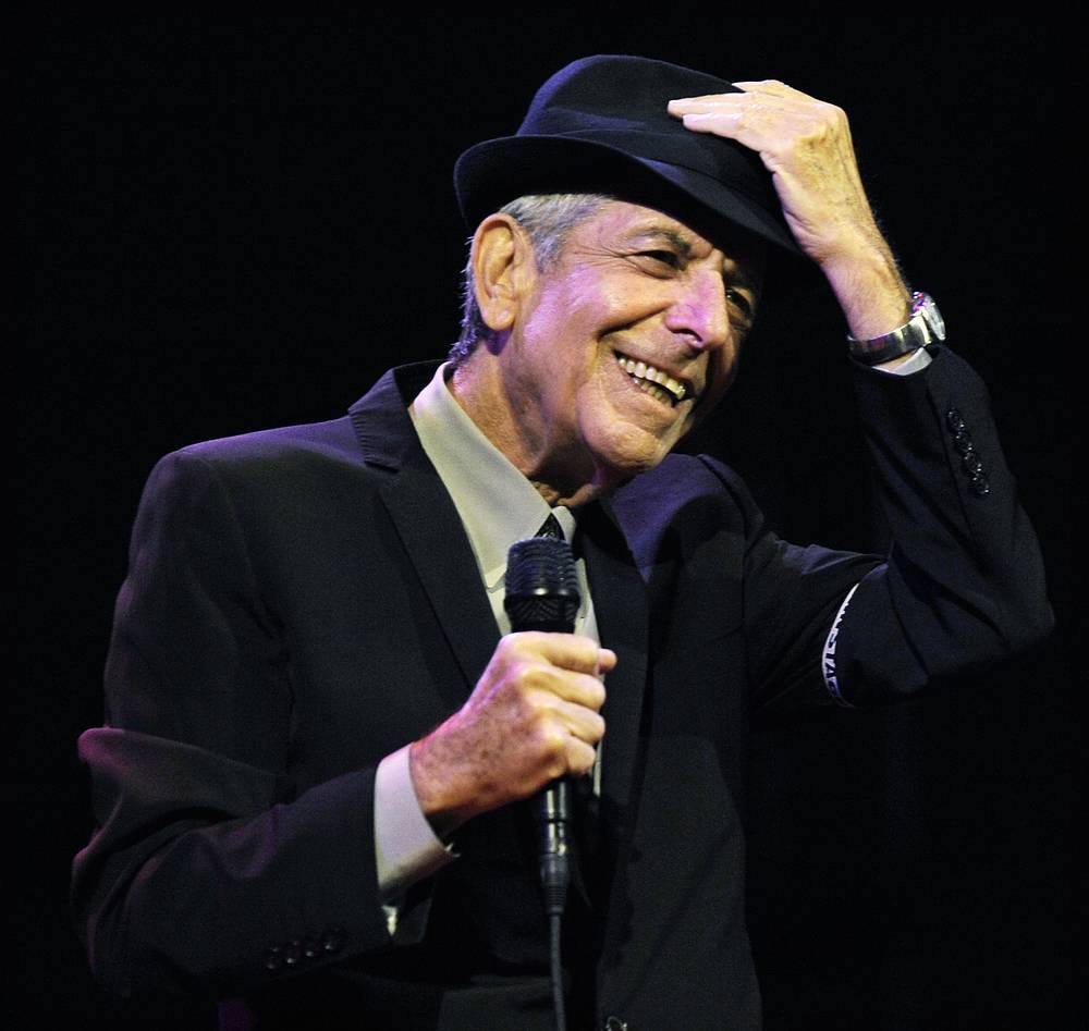 Canadian singer-songwriter Leonard Cohen died on November 7. He was 82
