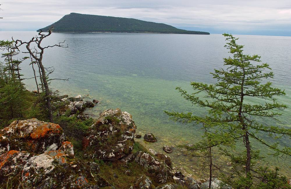 The Ushkany Islands of Lake Baikal in Buryatia, part of Transbaikal National Park