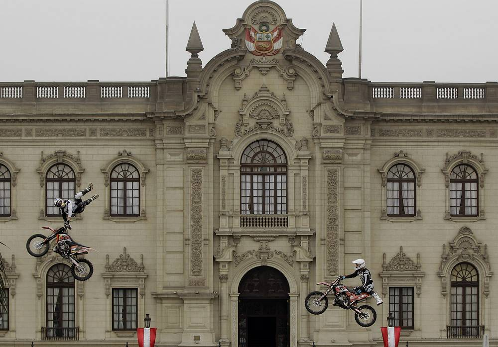 Government palace in Lima is the seat of the executive branch of the Peruvian Government and the official residence of the President of Peru