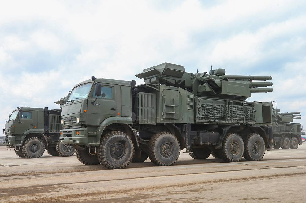 Pantsir-S surface-to-air missile systems
