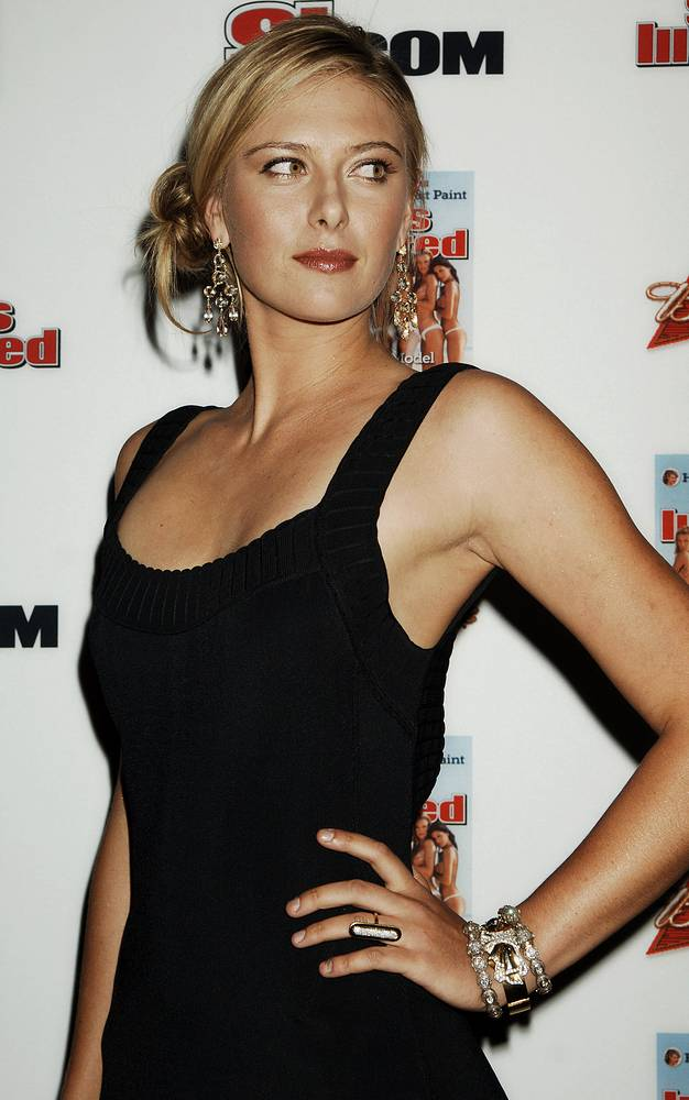 Tennis star and Sports Illustrated 2006 model Maria Sharapova, 2006