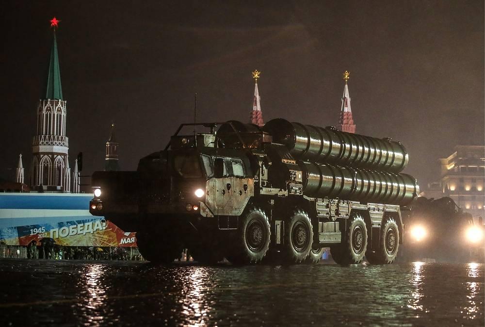 S-400 Triumf anti-aircraft missile system