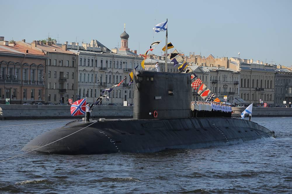 Vyborg diesel submarine