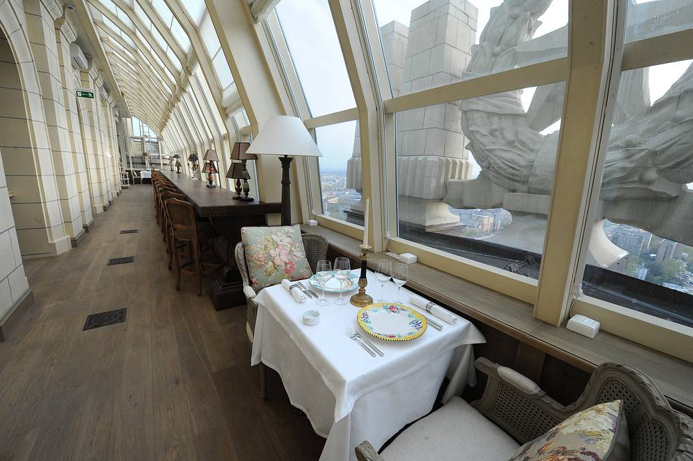 Restaurant at Ukraina Hotel after reconstruction, 2010