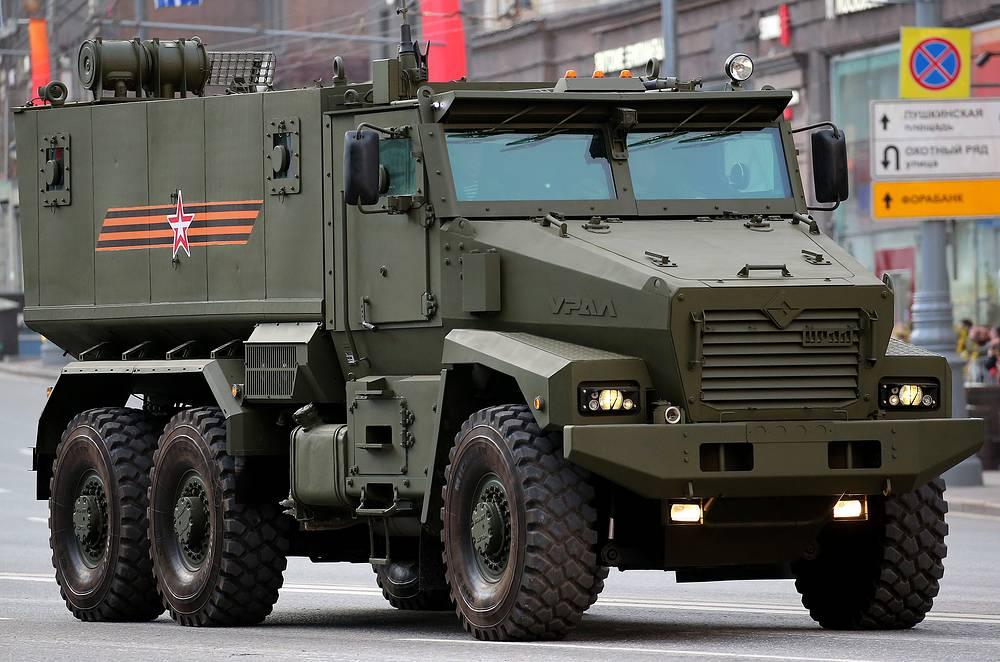 Typhoon-U armoured vehicle