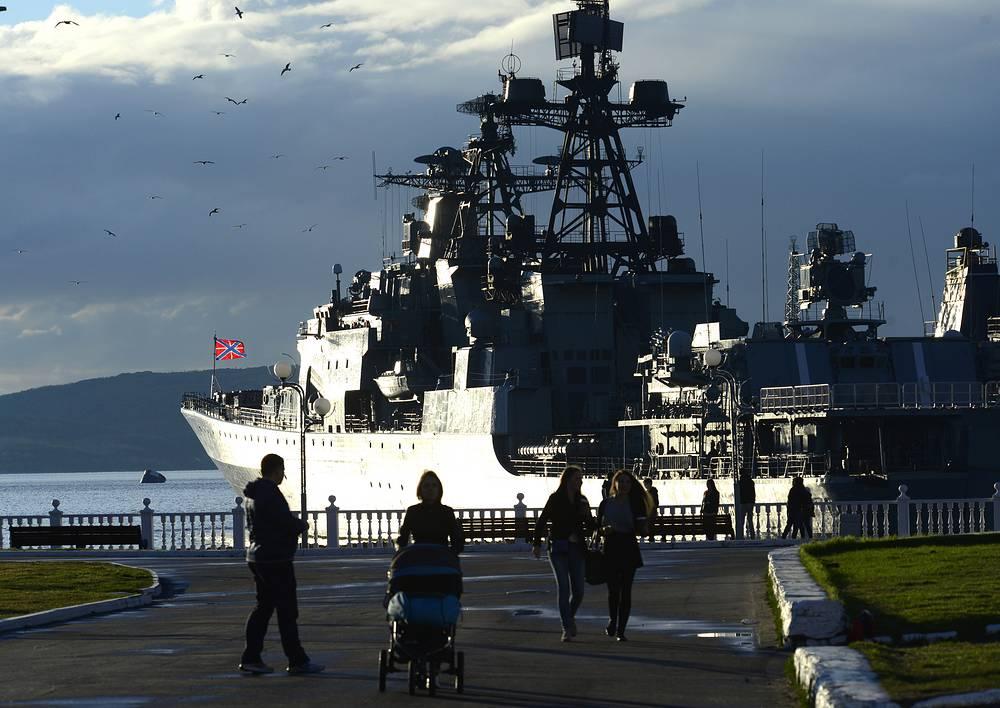 Anti-submarine ship Severomorsk