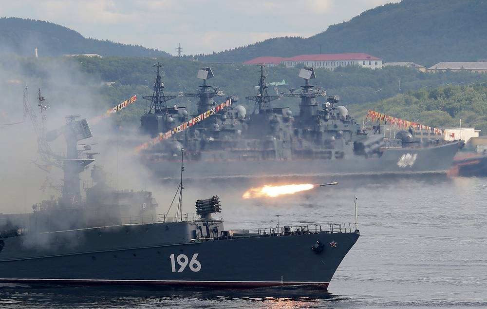 Snezhnogorsk small anti-submarine ship