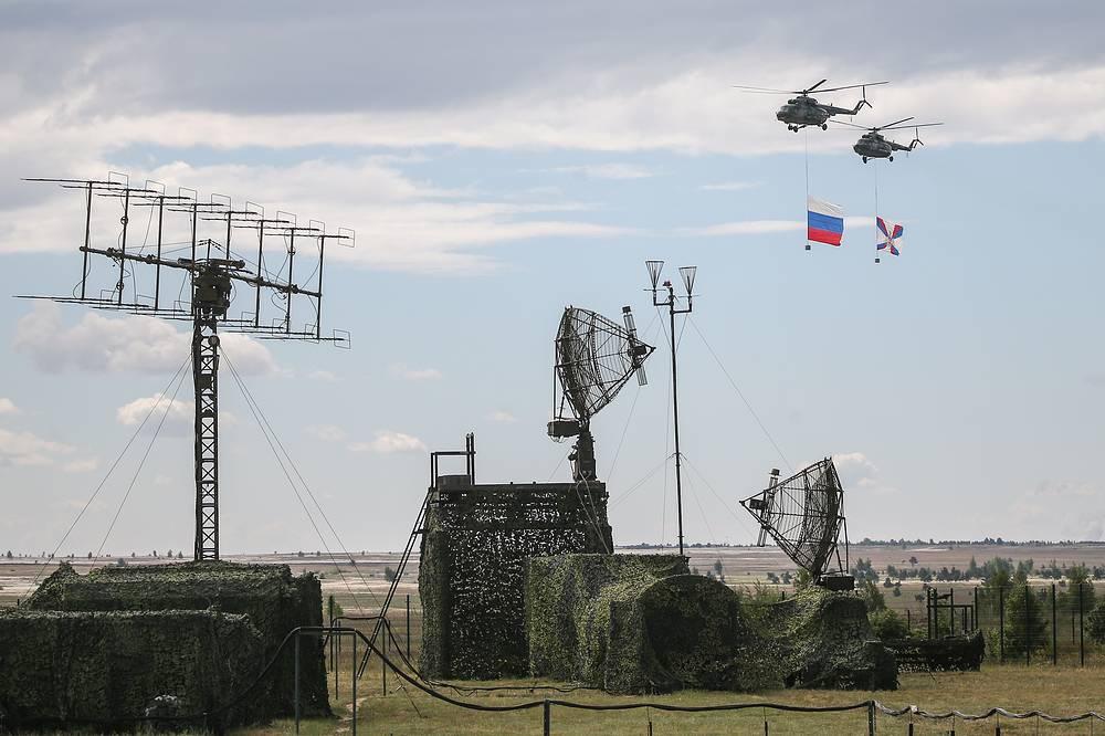 The Aviamix airshow at the Pogonovo range, Voronezh region