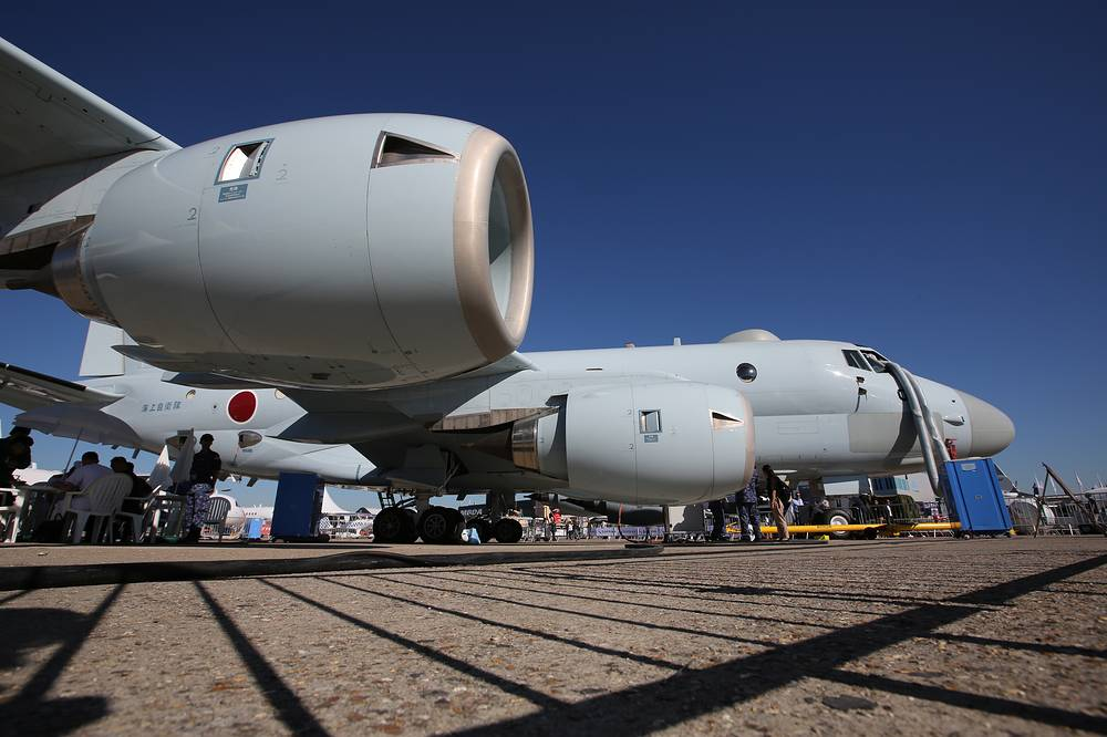Kawasaki short range military transport aircraft