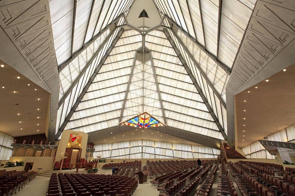 Beth Sholom Synagogue, designed by Frank Lloyd Wright