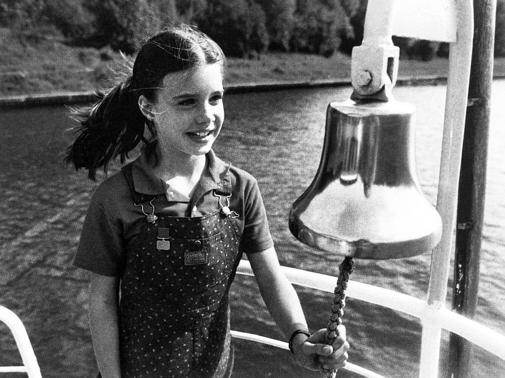 Samantha Smith in the Artek international camp, 1983