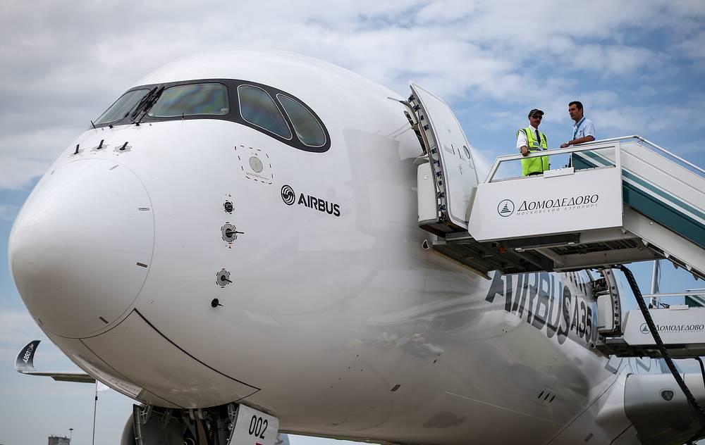 Airbus A350-900 aircraft