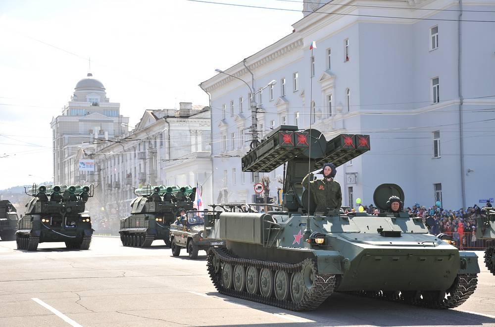 9K35 Strela-10 short-range surface-to-air missile system