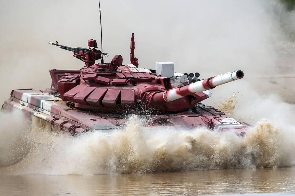 Iran's T-72B3 tank