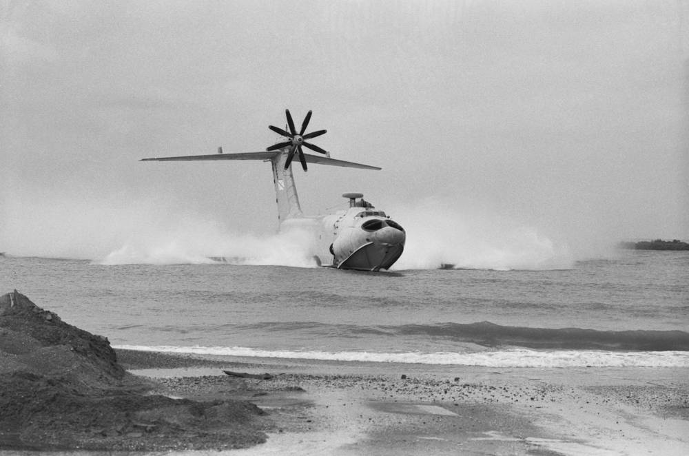 Orlyonok sea-going ground effect vehicle
