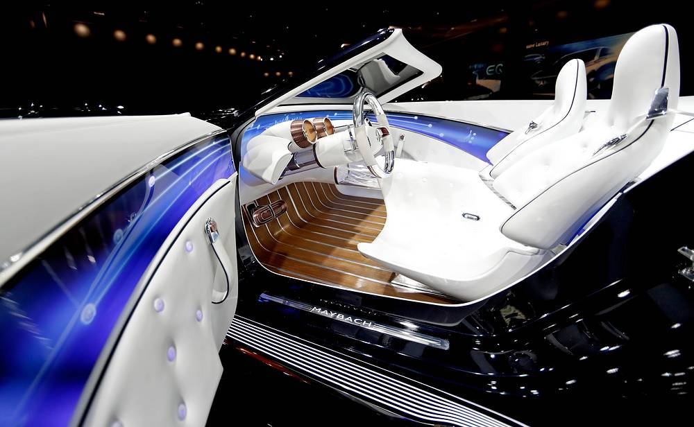 The Vision Mercedes-Maybach 6 Cabriolet at the IAA Car Show in Frankfurt Main, Germany,  September 13