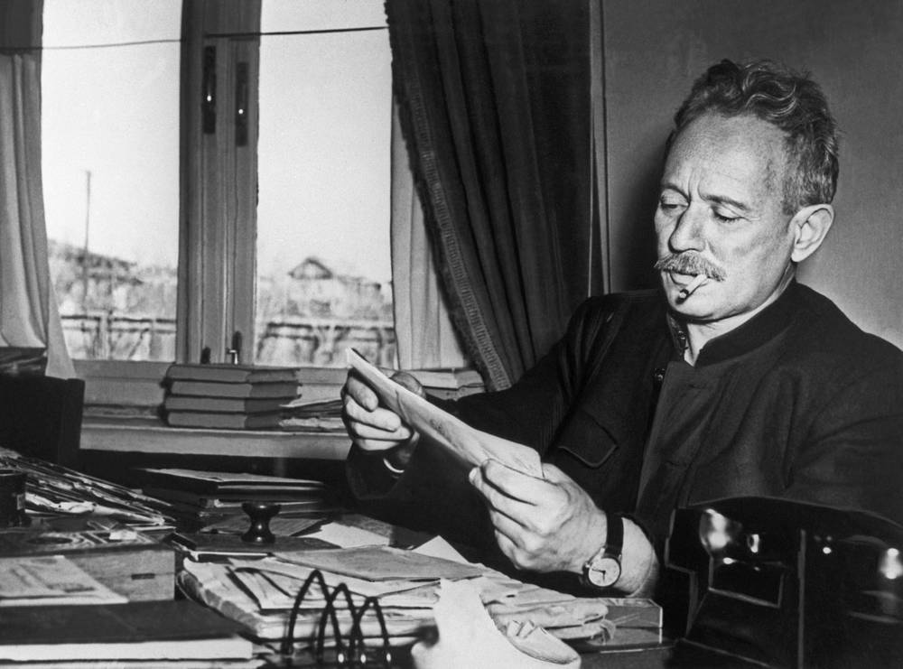 Soviet writer Mikhail Sholokhov was awarded the Nobel Prize in Literature in 1965 for his famous novel And Quiet Flows the Don
