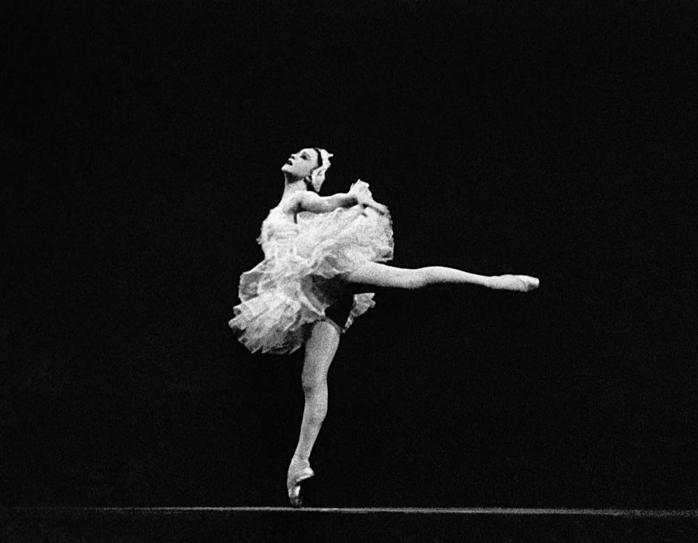 Galina Ulanova (1909-1998) is frequently cited as being one of the greatest ballerinas of the 20th century. Photo: Bolshoi Theatre prima ballerina Galina Ulanova as Odette performs in Pyotr Tchaikovsky's ballet Swan Lake