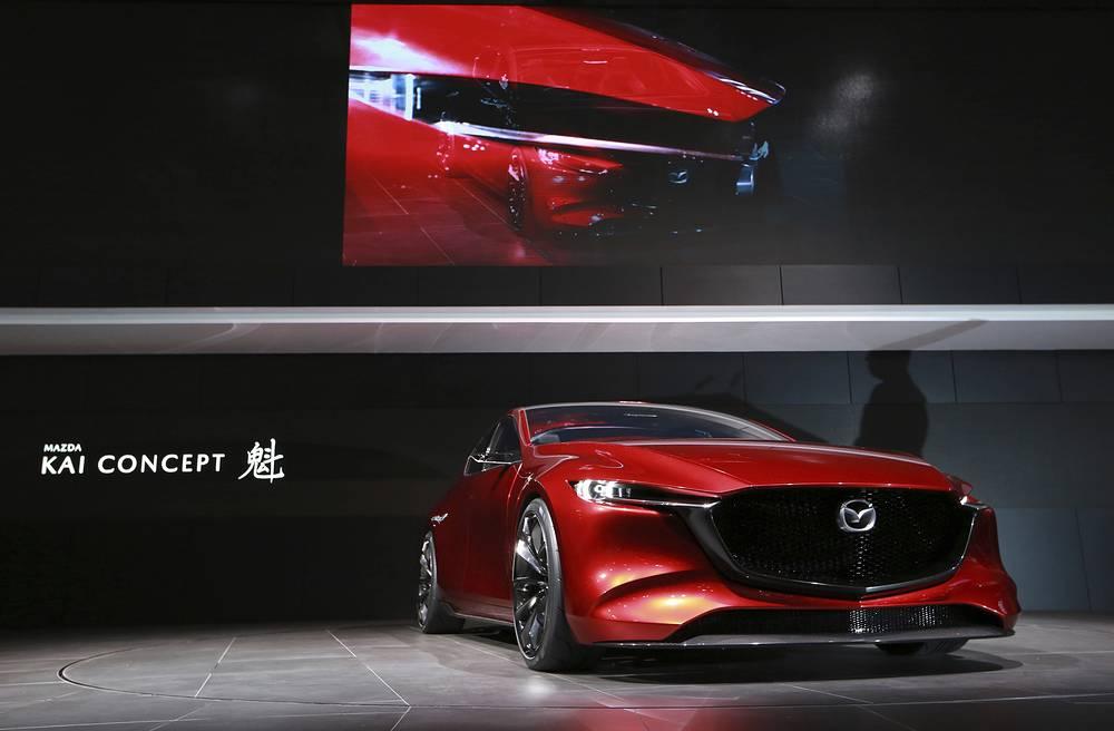A Mazda Kai concept car