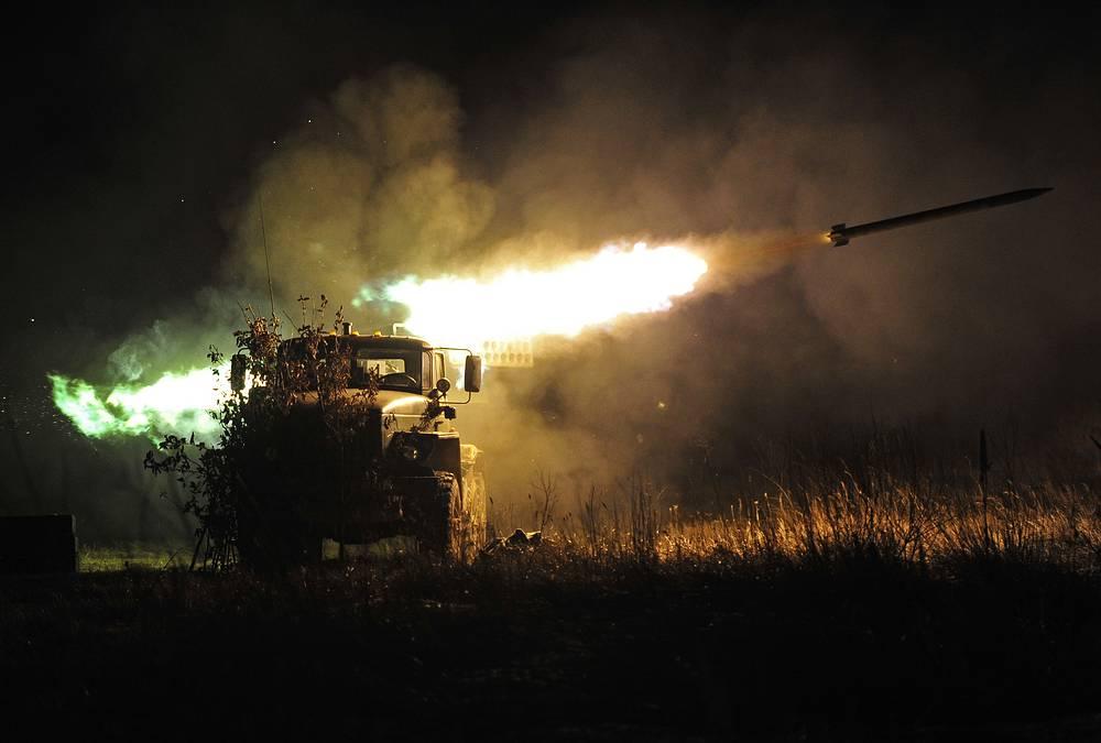 BM-21 Grad multiple rocket launcher
