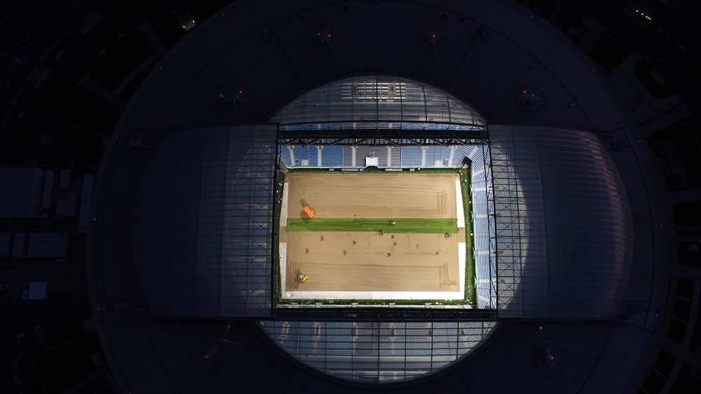 Saint Petersburg Stadium on Krestovsky Island
