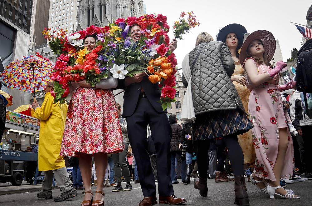 Easter celebrations in New York