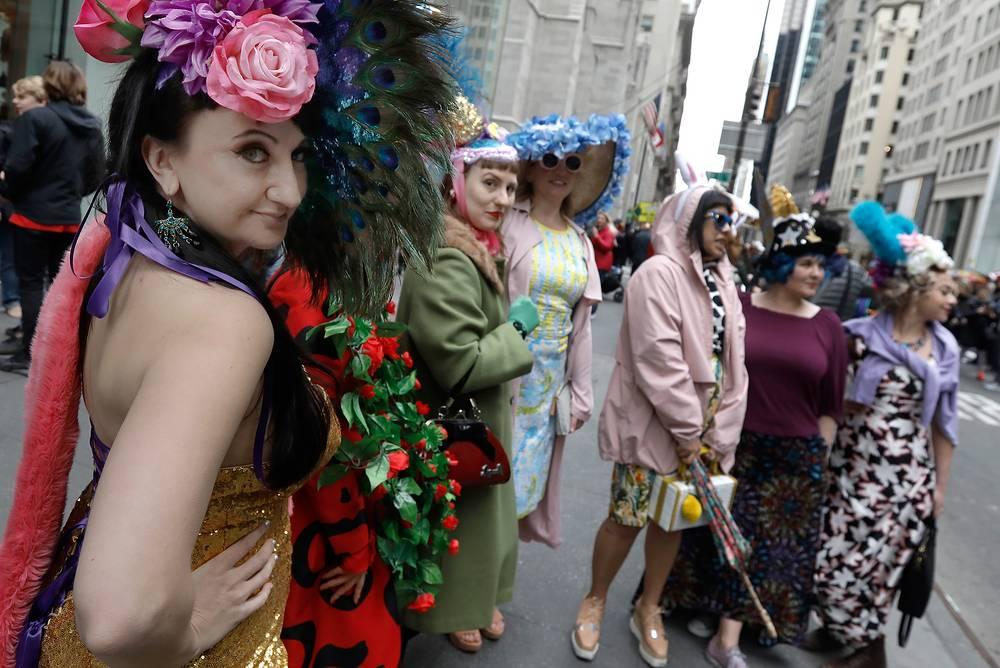 Easter Bonnet Parade in New York