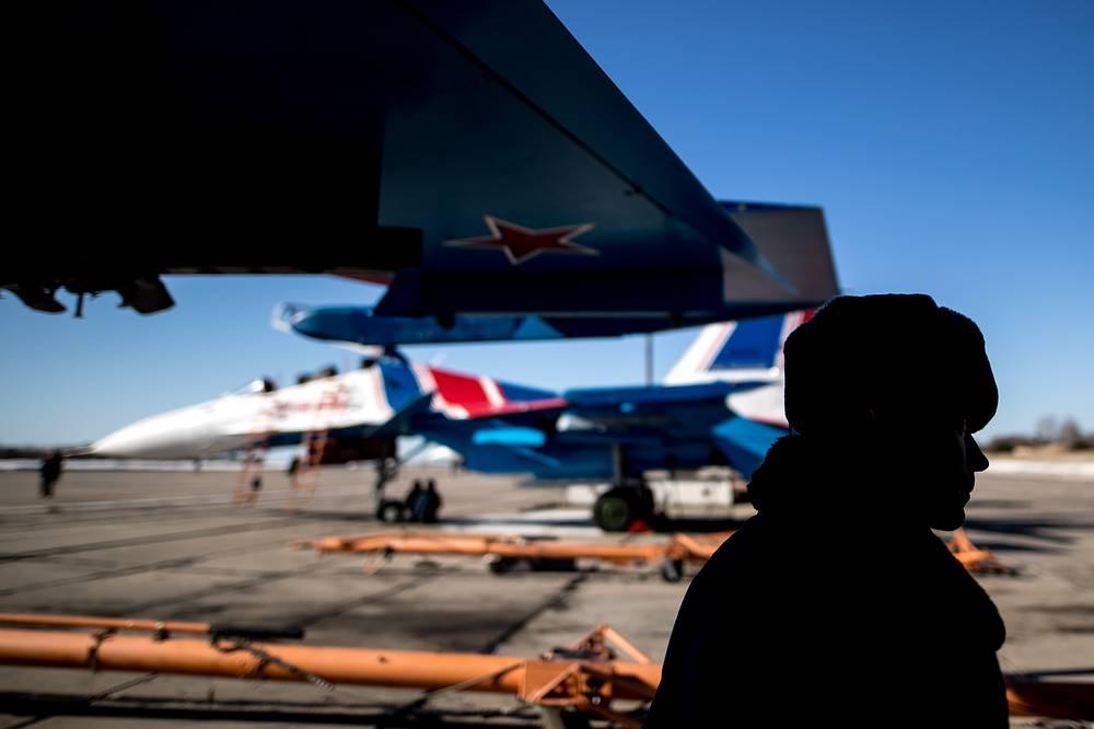 Sukhoi Su-30SM fighter jet