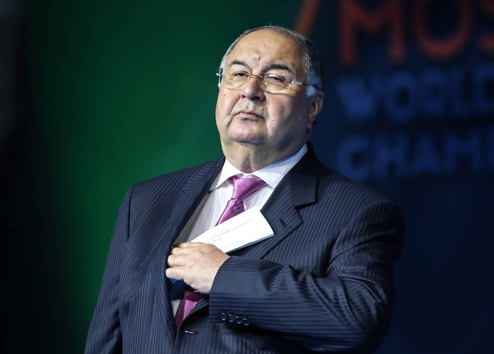 Alisher Usmanov, the main owner of Metalloinvest, $12.5 bln