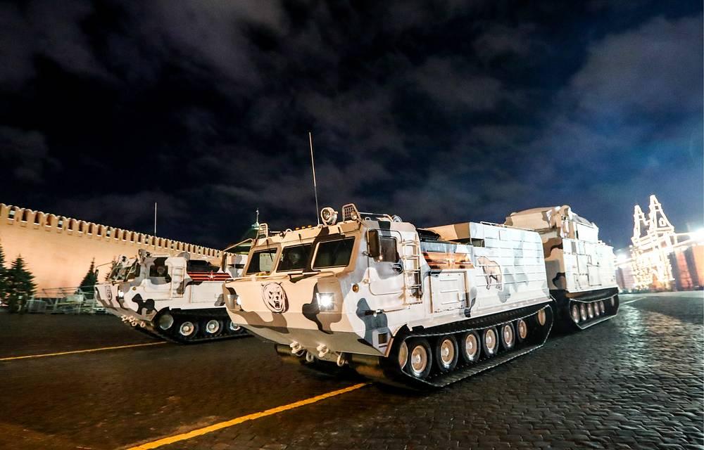 Pantsir-SA Arctic air defense missile system