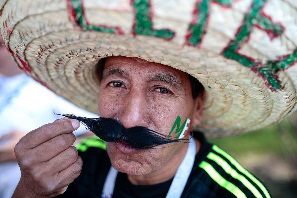 Mexican fan in Moscow
