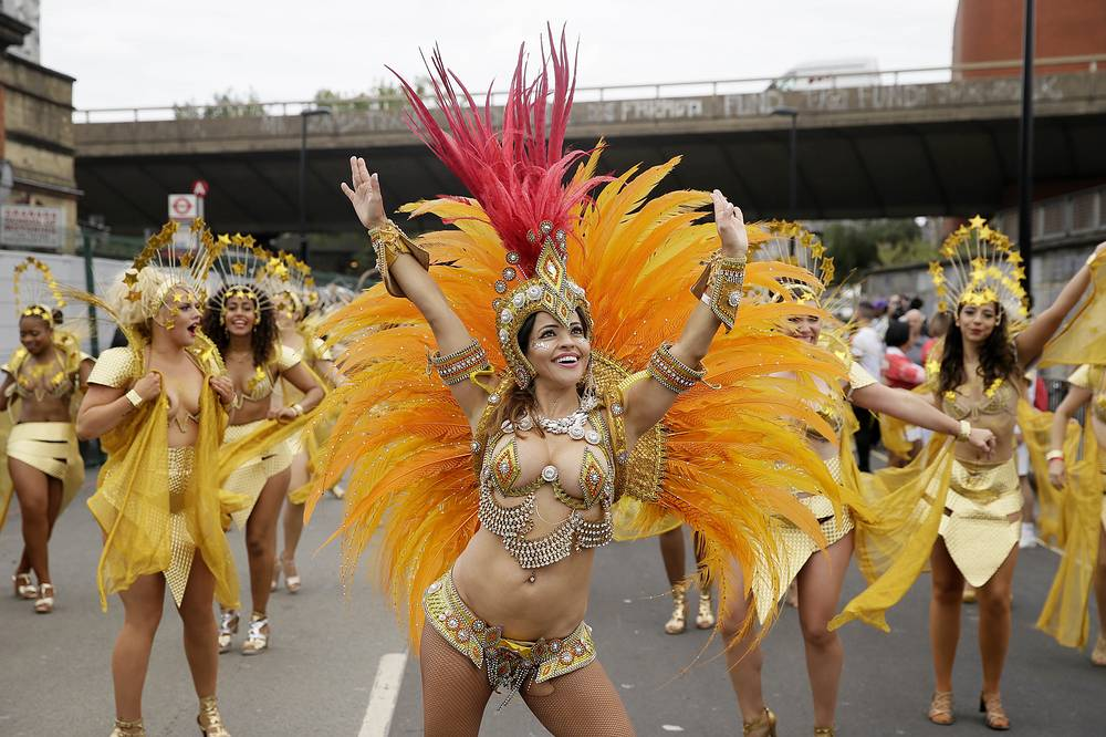 The Adult Parade is billed as the crescendo to the two-day street carnival, which celebrates Caribbean heritage, and this year the festival's 52nd anniversary