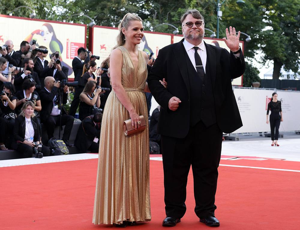 Jury President Guillermo del Toro and Kim Morgan
