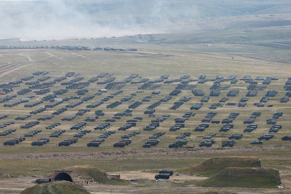 The main stage of the Vostok-2018 strategic drills was held at the Tsugol firing range in the Trans Baikal Region