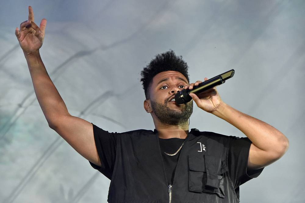 Canadian singer The Weeknd ($57 million)