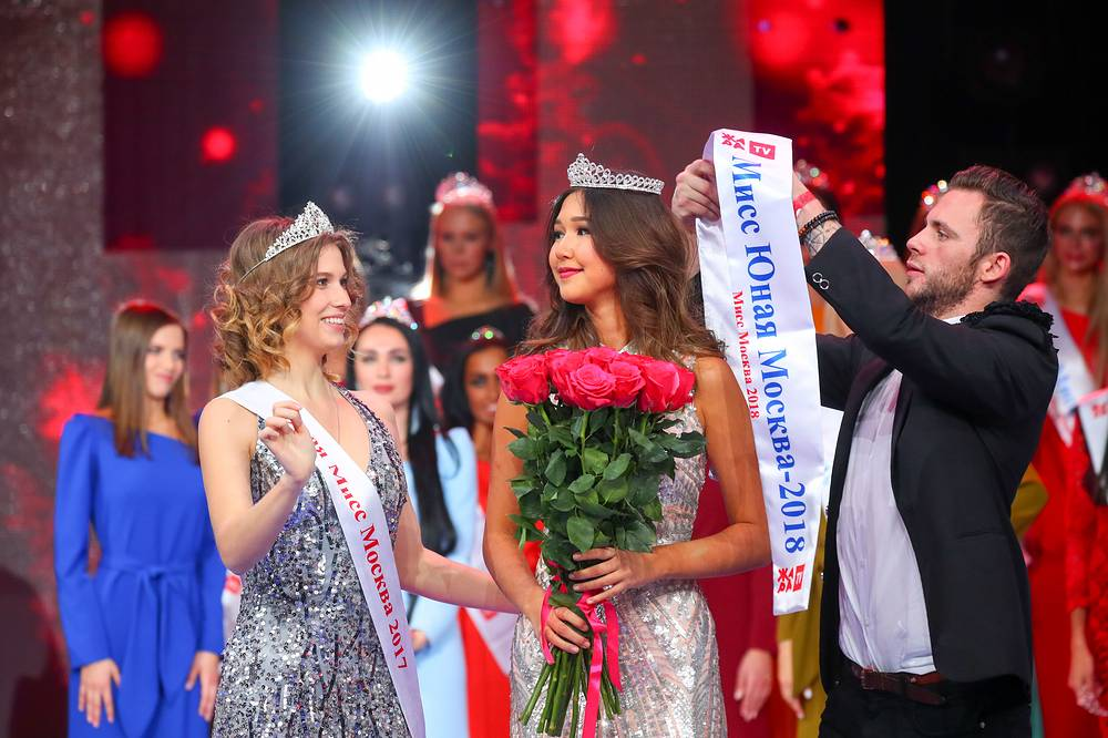 Dina Krasaeva became the winner of the title Miss Young Moscow