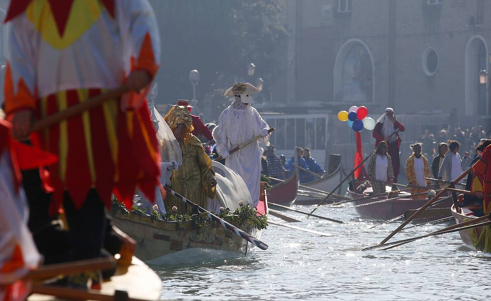 This year, Venice Carnival is held from Fenruary 16 to March 5