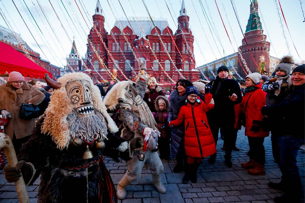 Maslenitsa is celebrated during the last week before Great Lent, preceding Orthodox Easter