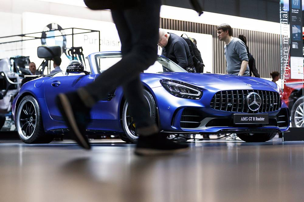 Mercedes-Benz GT R Roadster