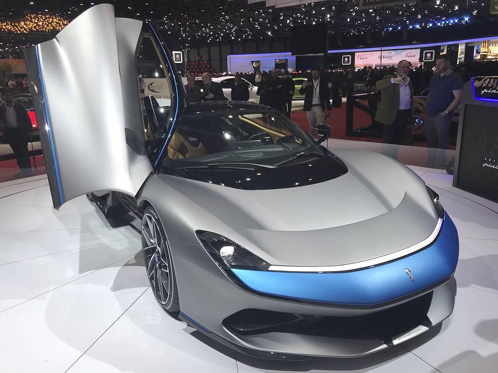 New Pininfarina Battista