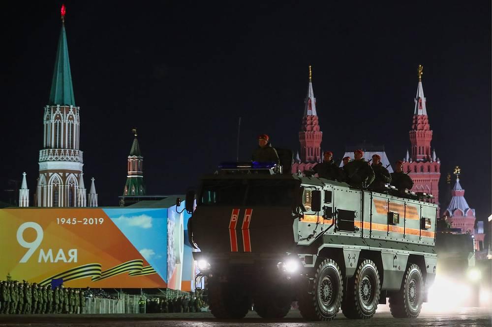 Kamaz Typhoon-K armoured vehicle