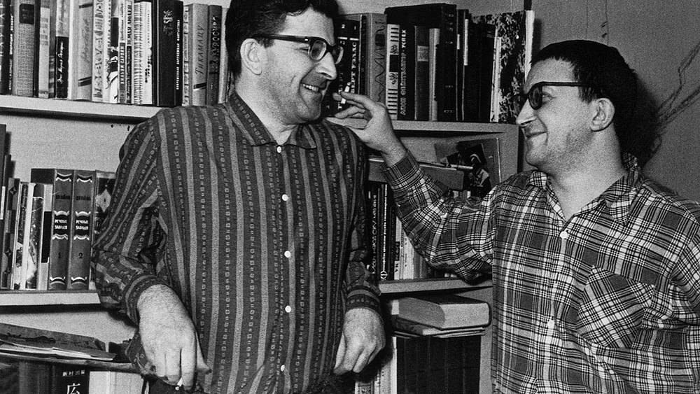 Arkady and Boris Strugatsky. 1965