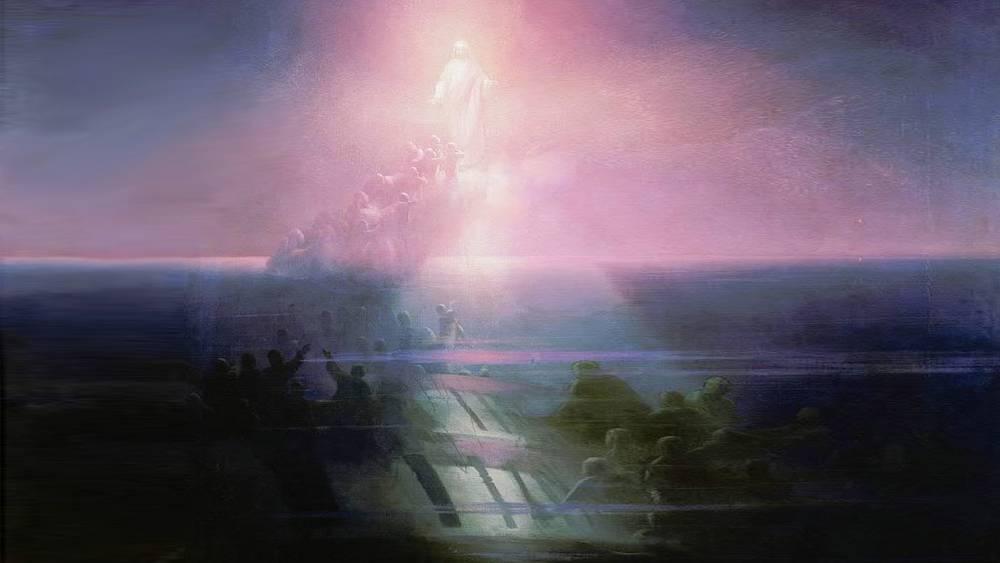 """Картина И.К. Айвазовского """"Гибель """"Лефорта"""""""""""