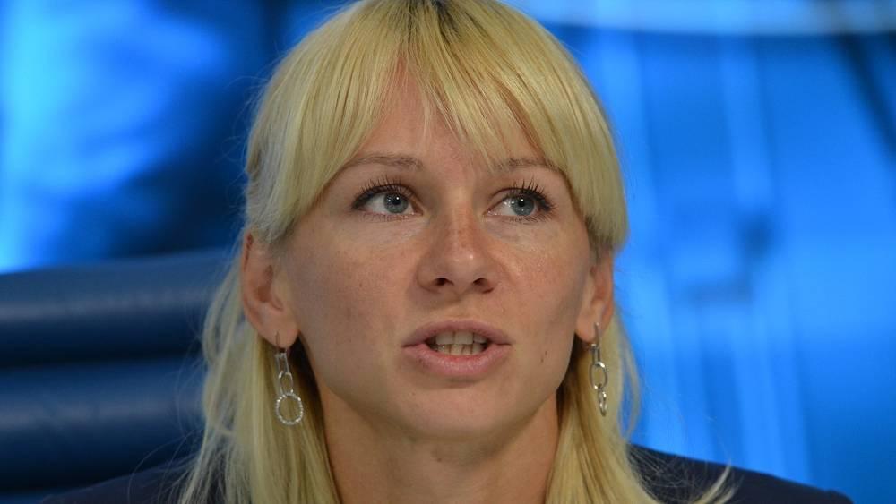 Чемпионка мира Юлия Гущина