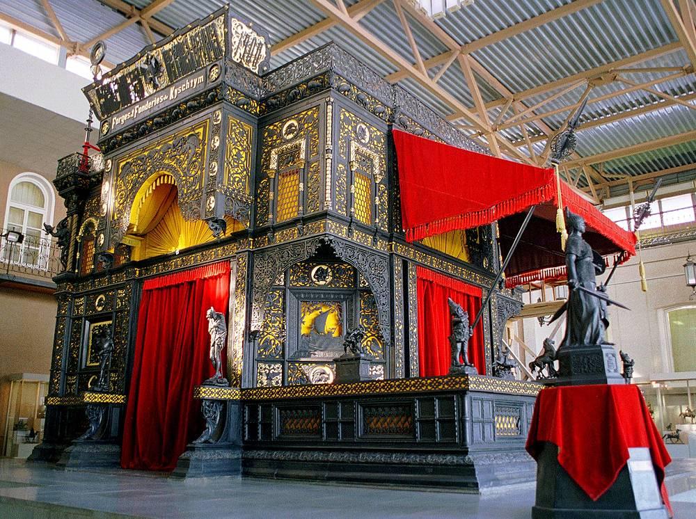 Каслинский чугунный павильон в Музее изобразительных искусств в Екатеринбурге
