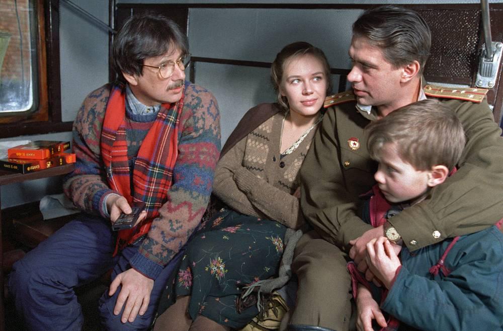 """На съемках фильма """"Вор"""". 1997"""