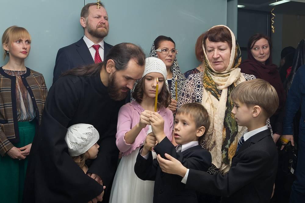 На открытии Семейного Екатерининского центра